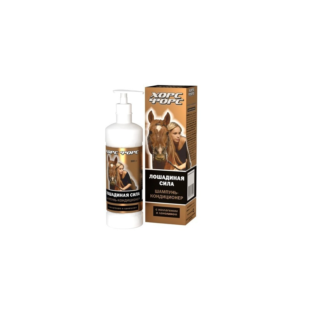 Horse Force Hobujõud sampoon-palsam 500 ml