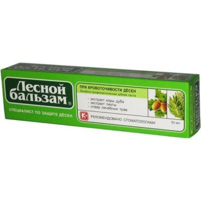 Lesnoi Palsam hambapasta (tammekoor, nulu) 50ml
