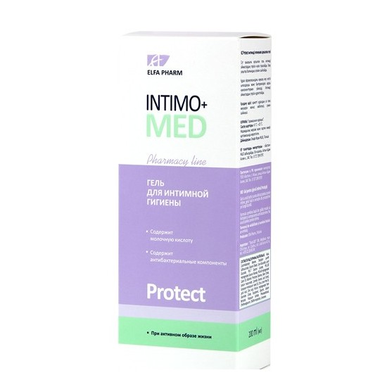 Intimo-med Protect geel 200 ml